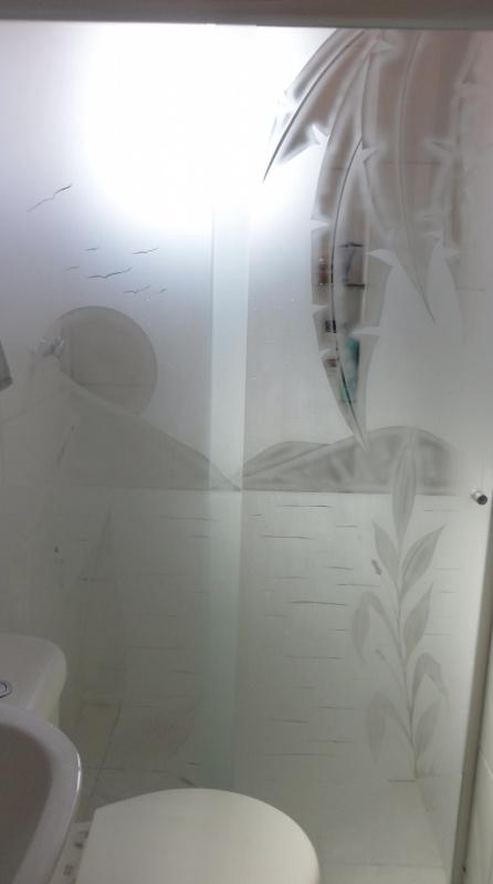 Box de Vidro Temperado na Água Branca - Box Banheiro Preço