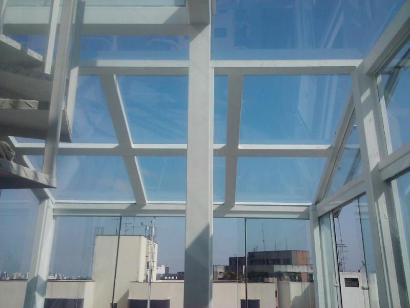 Coberturas de Vidro em São Bernardo