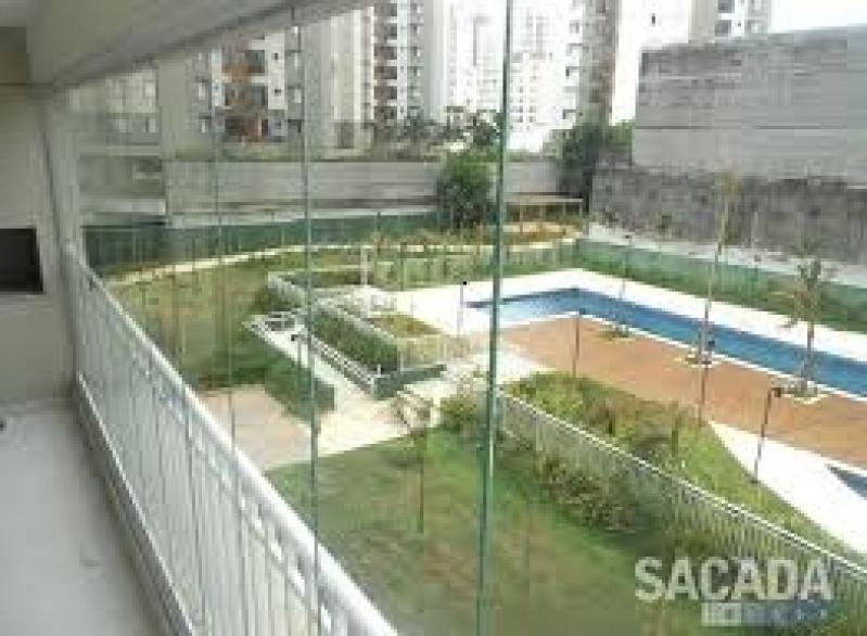 Envidraçamento de Sacada Vidro Temperado em Santa Cecília - Envidraçamento de Sacadas SP Preço