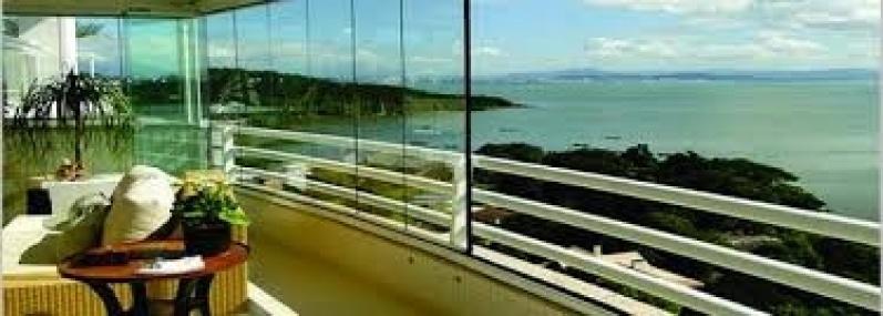 Envidraçamento de Sacada Vidro Temperado Valores em Aricanduva - Envidraçamento de Sacada em Santo André
