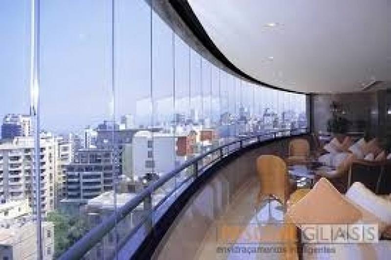 Envidraçamento de Sacada Vidro Temperados Preço em Santana - Envidraçamento Sacada Preço