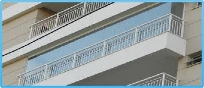 Envidraçamento de Sacadas Preços M2 em Santana - Preço Envidraçamento de Sacadas SP