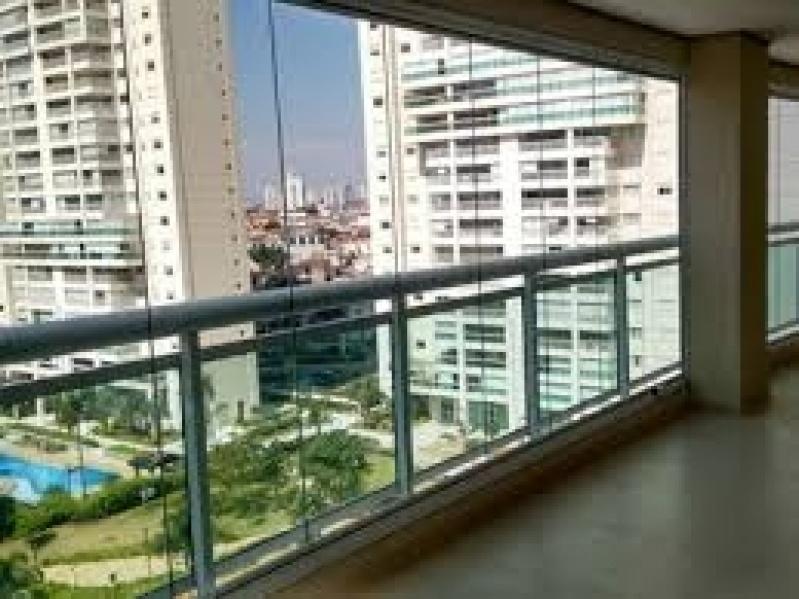 Envidraçamento de Sacadas Valor na Liberdade - Envidraçamento de Sacada em São Caetano