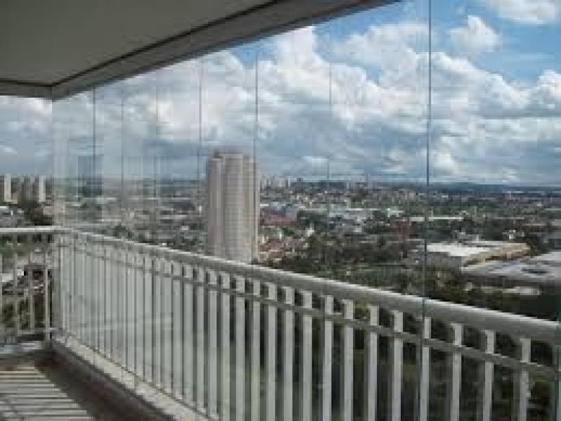 Envidraçamento de Sacadas Valores na Cidade Tiradentes - Envidraçamento de Sacadas Preço