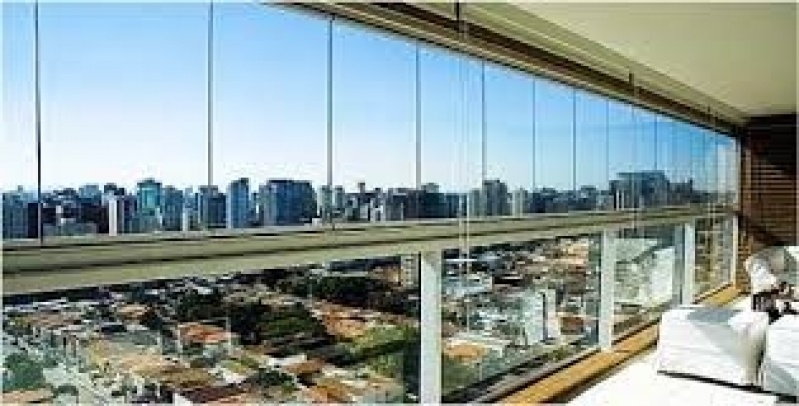 Fechamento de Sacada em Vidro no Itaim Paulista - Fechamento de Sacadas no ABC