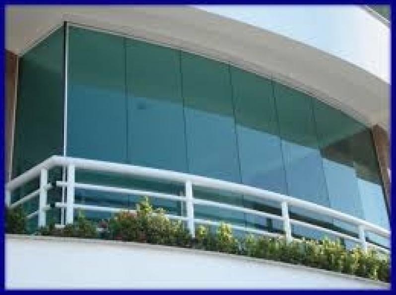 Fechamento de Sacada em Vidro Preço em Aricanduva - Fechamento de Sacada com Vidro