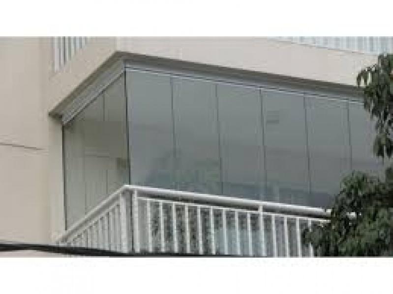 Fechamento de Sacada em Vidro Preço em Santo André - Fechamento Sacadas Vidro