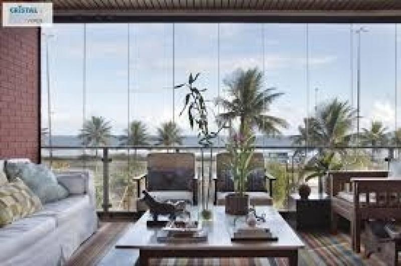 Fechamento de Sacada em Vidro Preços no Itaim Bibi - Fechamento Sacada Vidro Preço