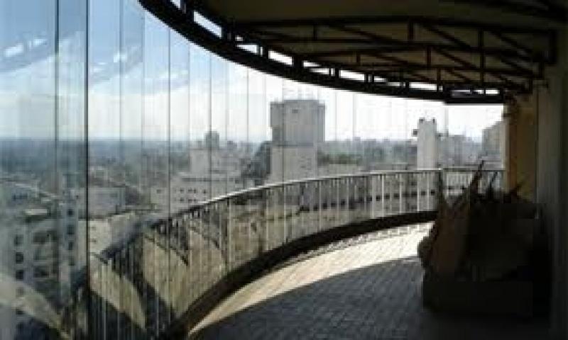 Fechamento de Sacada em Vidro Preços no Itaim Paulista - Vidro Fechamento de Sacada