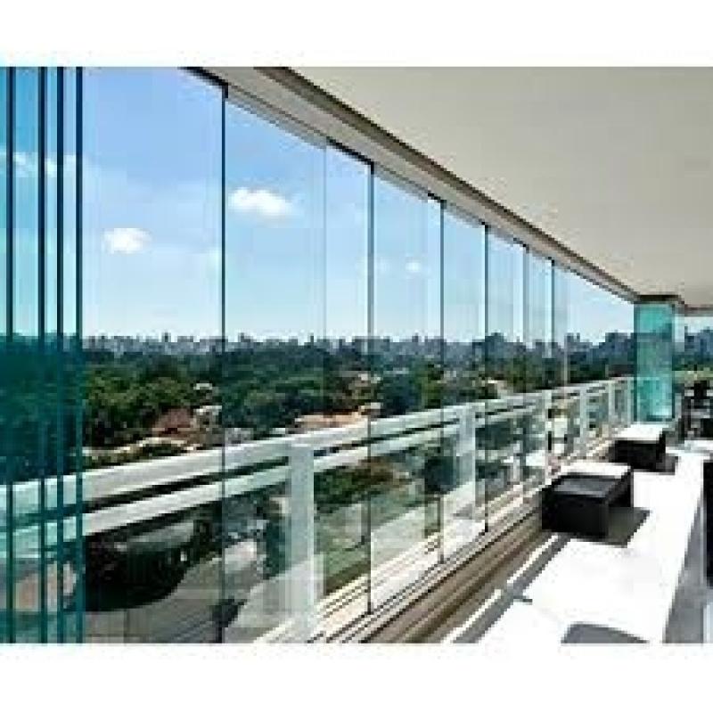Fechamento de Sacada em Vidro Valores na Casa Verde - Fechamentos de Sacadas com Vidro
