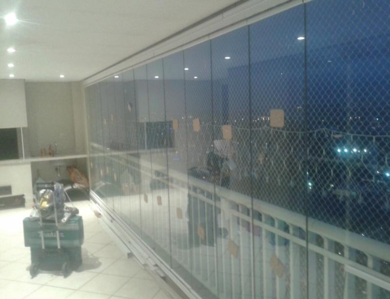 Fechamento de Sacada em Vidro Valores na Vila Curuçá - Vidro Fechamento de Sacada