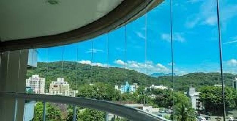 Fechamento de Sacadas com Vidro em Diadema - Fechamento Sacada Vidro Preço