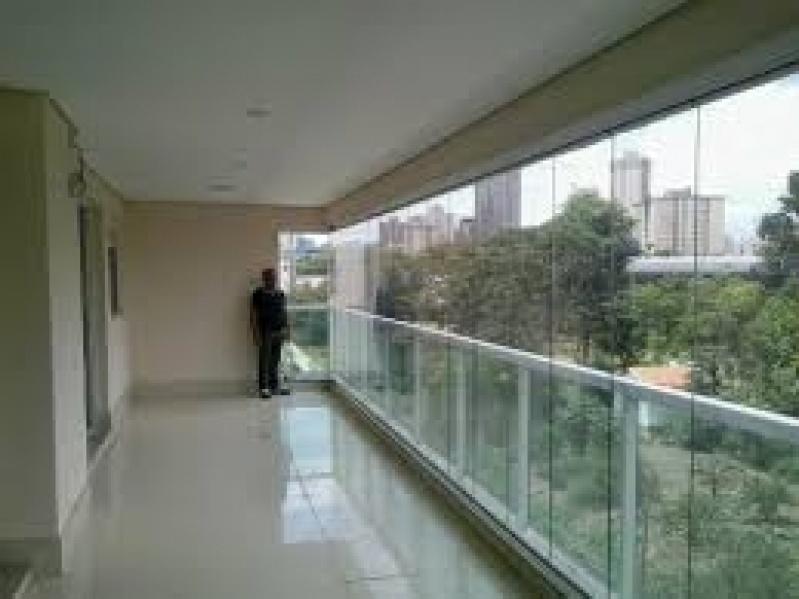 Fechamento de Sacadas com Vidro Preço em Interlagos - Fechamento de Sacadas com Vidros
