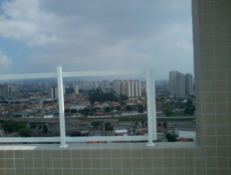 Fechamento de Sacadas com Vidro Preço no Parque São Lucas - Fechamento de Sacadas em São Bernardo