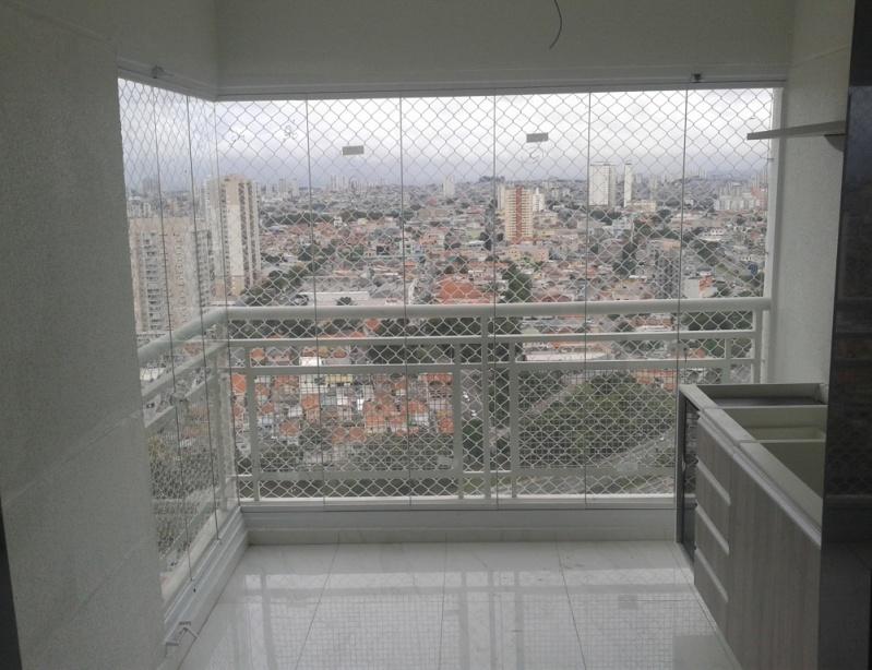 Fechamento de Sacadas com Vidro Preços em São Bernardo do Campo - Fechamento de Sacadas Preço
