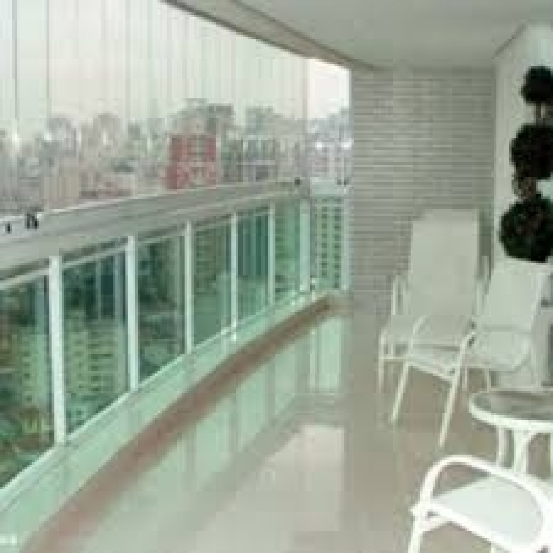 Fechamento de Sacadas com Vidro Valor na Ponte Rasa - Fechamento de Sacadas com Vidro