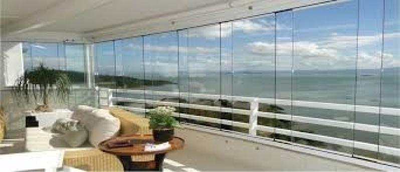 Fechamento de Sacadas com Vidros na Vila Guilherme - Fechamento de Sacada com Vidro
