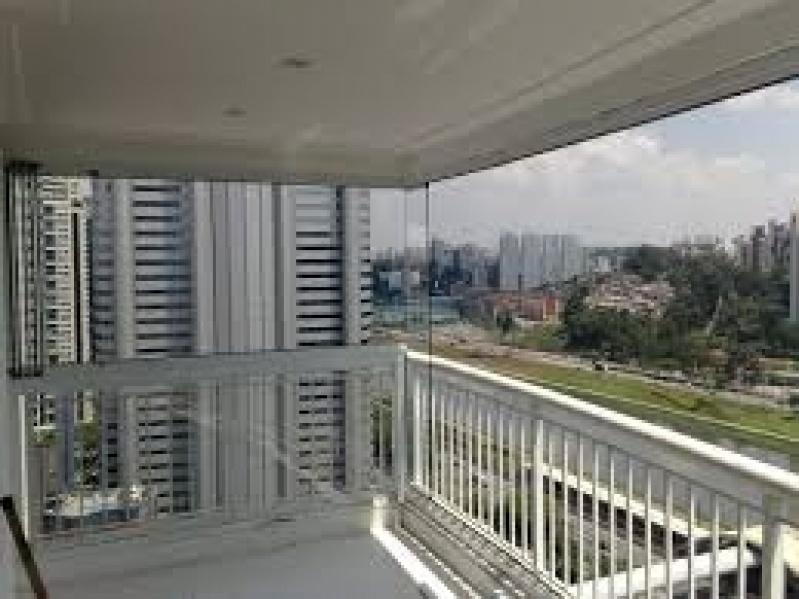 Fechamento de Sacadas com Vidros Preços na Cidade Jardim - Fechamento de Sacadas em Santo André