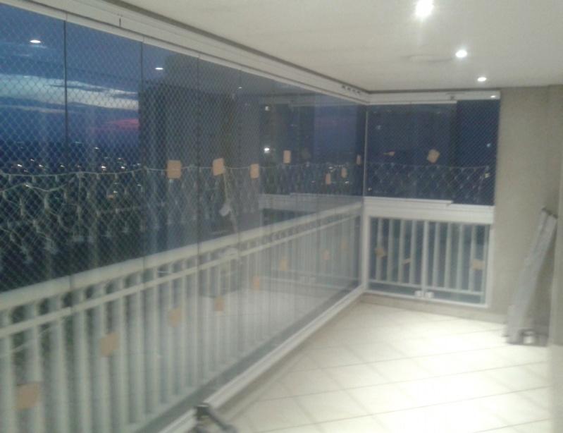 Fechamento de Sacadas com Vidros Preços no Tatuapé - Fechamento de Sacadas em São Bernardo
