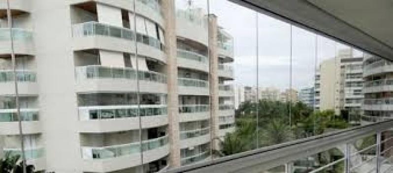 Fechamento de Sacadas com Vidros Valor em São Mateus - Fechamento de Sacadas