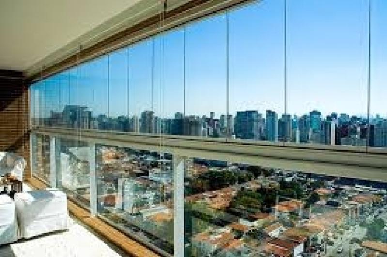 Fechamento de Sacadas com Vidros Valor no Jardim Iguatemi - Vidro Fechamento de Sacada