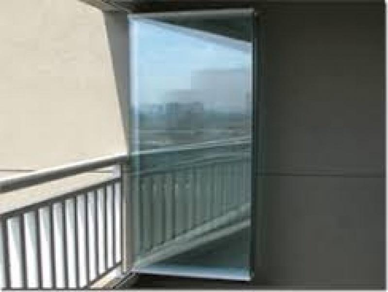 Fechamento de Sacadas com Vidros Valores na Freguesia do Ó - Fechamento de Sacadas em Santo André
