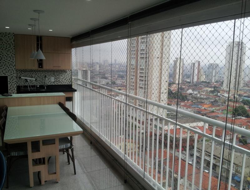 Fechamento de Sacadas com Vidros Valores no Jardim Iguatemi - Fechamento de Sacada em Vidro