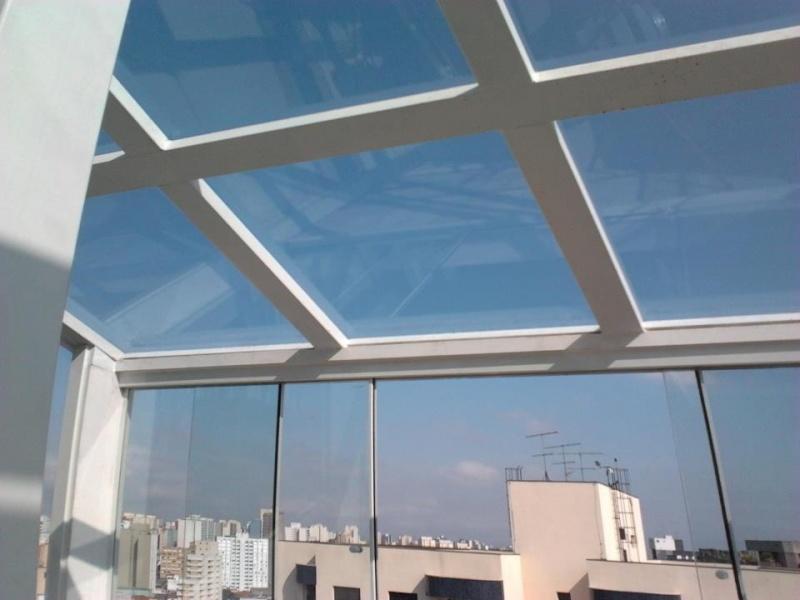 Fechamento de Sacadas em Vidro Preços em Santana - Fechamento de Sacadas com Vidros