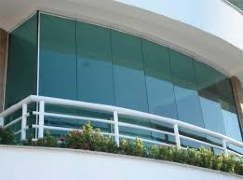 Fechamento de Sacadas em Vidro Preços na Água Funda - Fechamento Sacadas Vidro