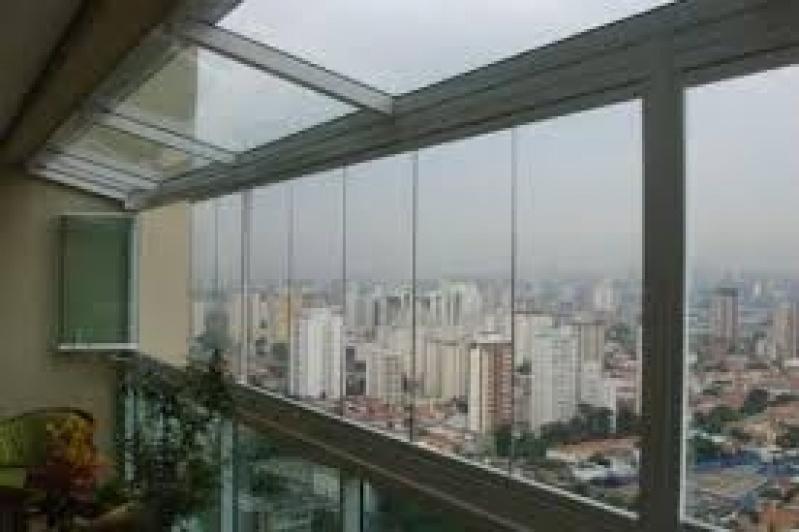 Fechamento de Sacadas Valores no Alto da Lapa - Fechamento de Sacadas em Santo André