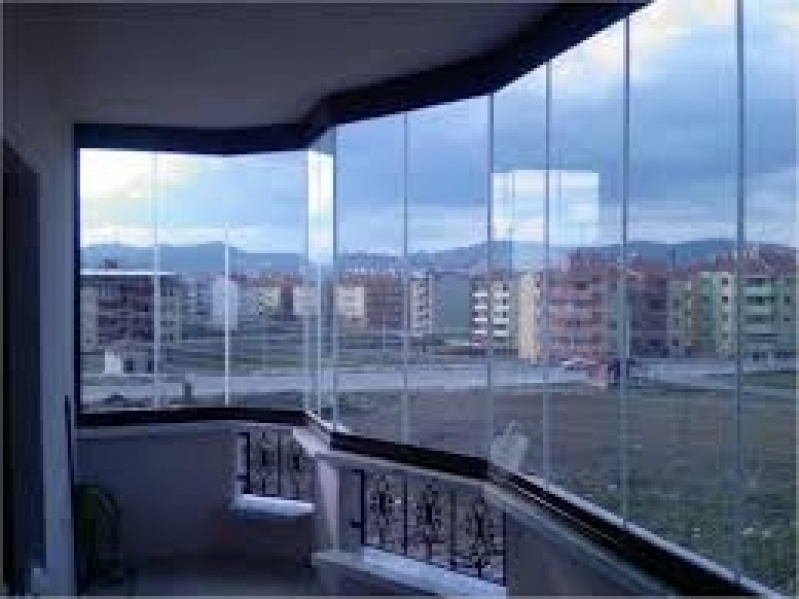 Fechamento Sacada com Vidro Preços no Ibirapuera - Fechamento de Sacadas em Osasco