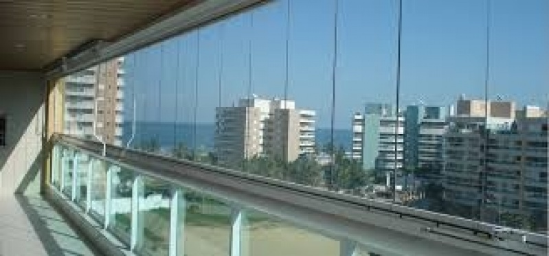 Fechamento Sacada com Vidro Preços no Itaim Bibi - Fechamento de Sacadas em Santo André
