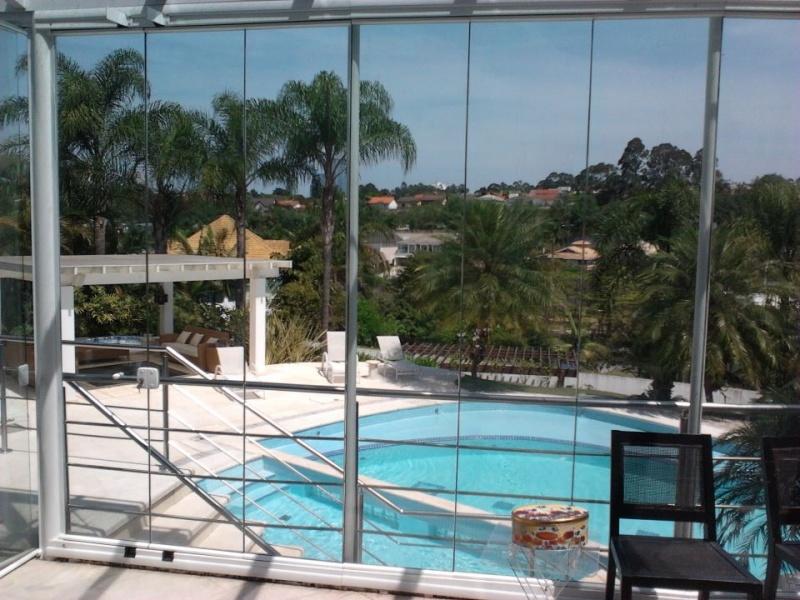Fechamento Sacada Vidro Preço no Jardim São Luiz - Fechamento de Sacada com Vidro