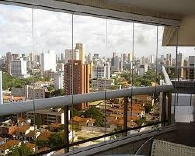 Fechamento Sacada Vidro Preços na Freguesia do Ó - Fechamento de Sacadas em Santo André