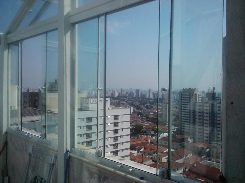 Fechamento Sacadas Vidro Preço em Sumaré - Fechamento de Sacadas em Guarulhos