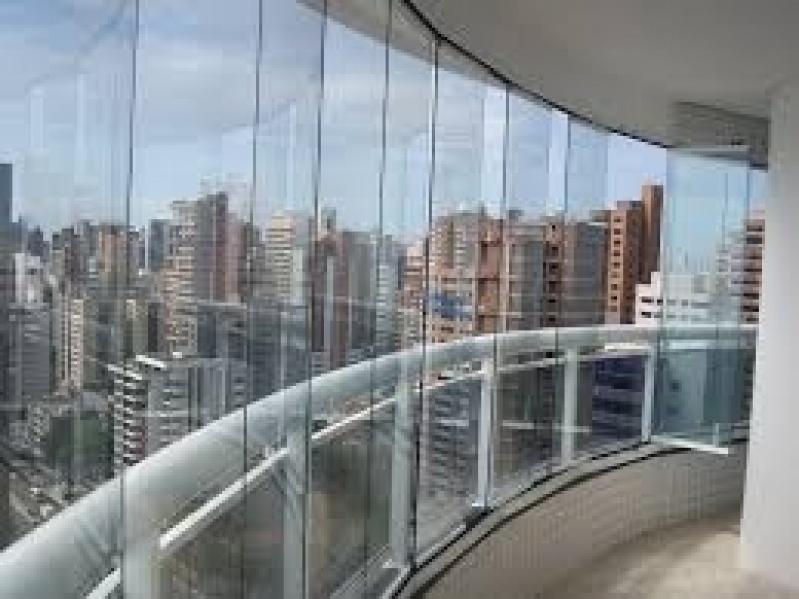 Fechamento Sacadas Vidro Preços na Vila Medeiros - Fechamento de Sacadas em Santo André