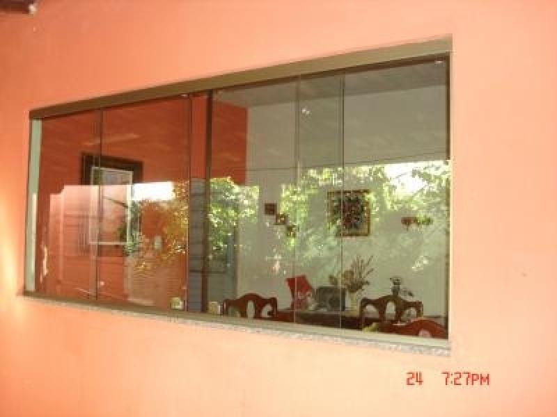 Janela de Vidro Temperado Preço no Jardim Ângela - Janelas de Vidro Preços