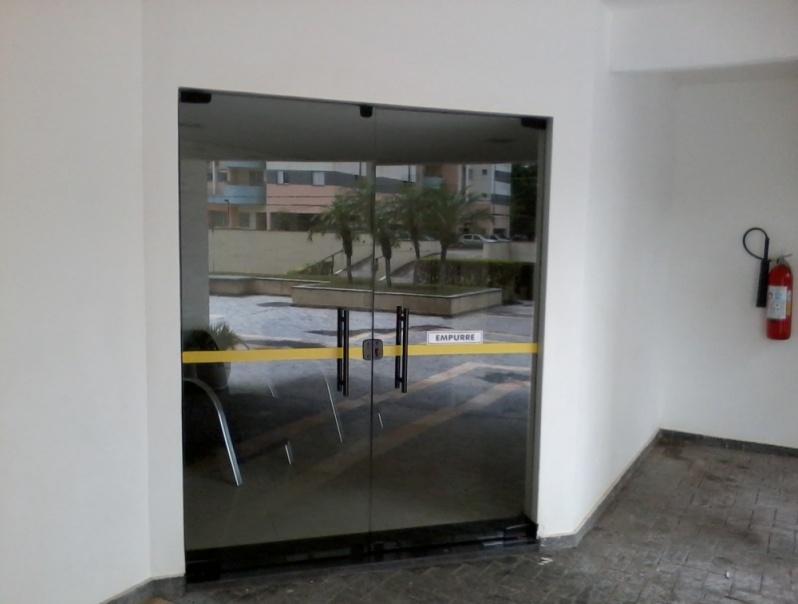 Porta de Vidro Preços na Vila Carrão - Porta de Vidro de Correr em Santo André