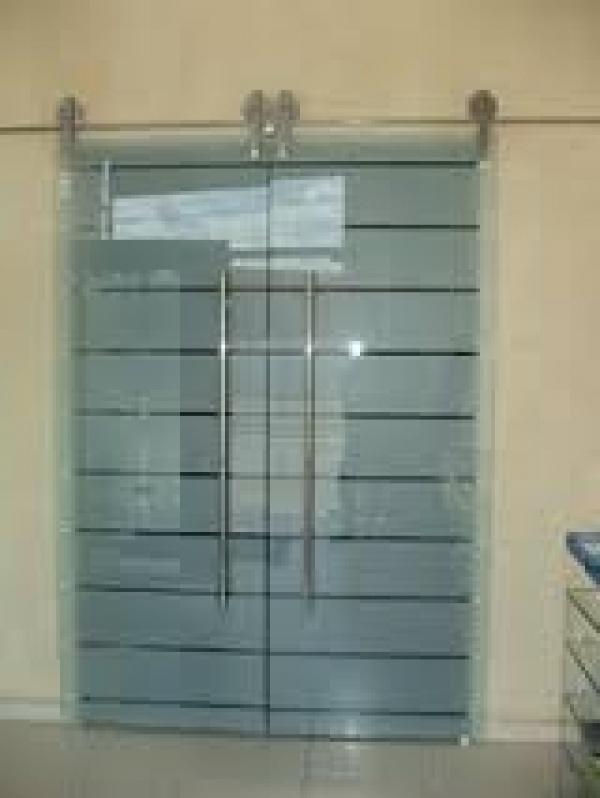 Porta de Vidro Valor na Vila Esperança - Porta de Vidro de Correr em São Caetano