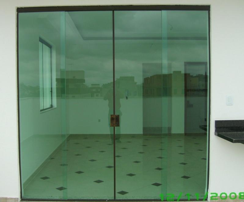 Portas de Vidro Preço em Ermelino Matarazzo - Porta de Vidro de Correr em São Bernardo