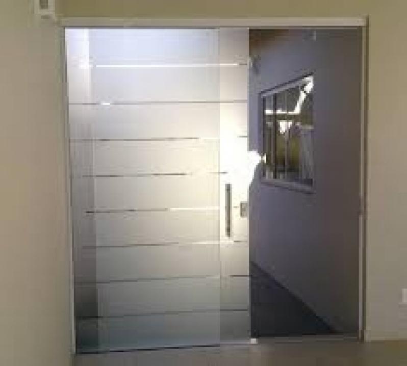 Portas de Vidro Valor no Ipiranga - Porta de Vidro de Correr em Santo André