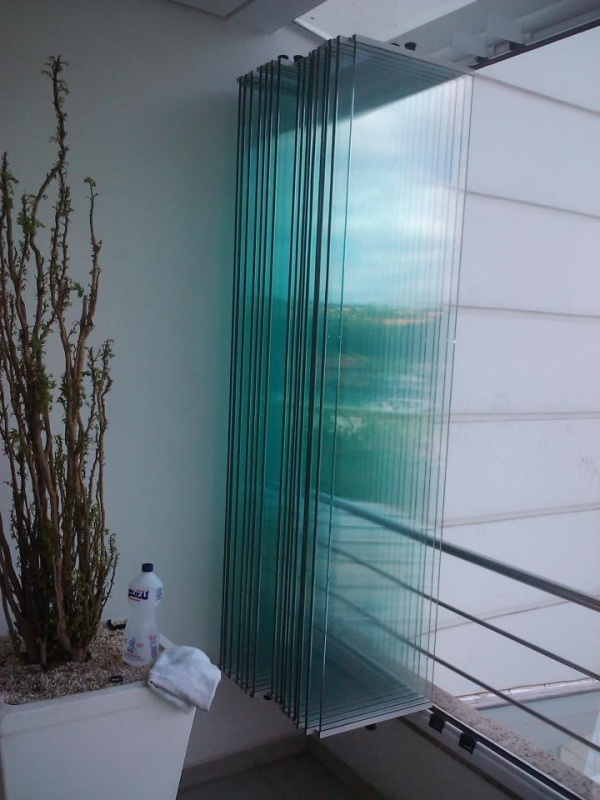 Sacada de Vidro Valores em Guianazes - Sacada com Vidro