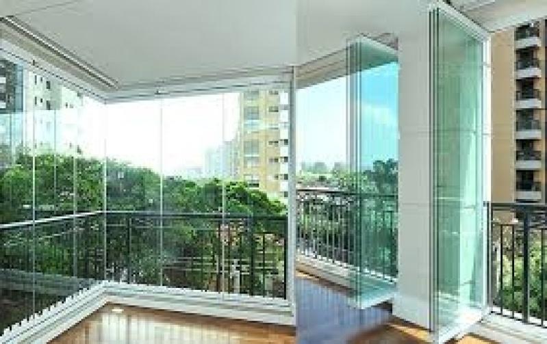 Sacada em Vidro Preço no Cambuci - Vidros em Sacadas