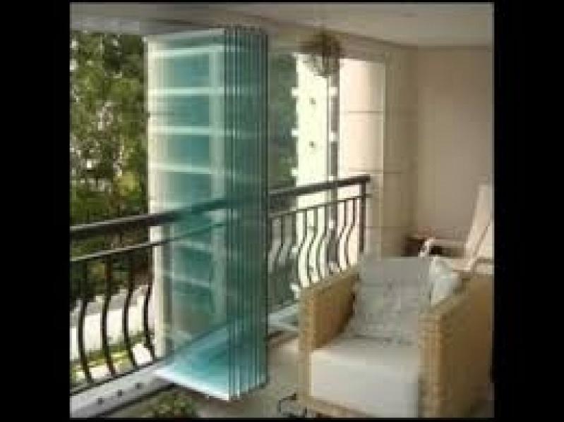 Sacada Glass no Campo Grande - Vidro na Sacada