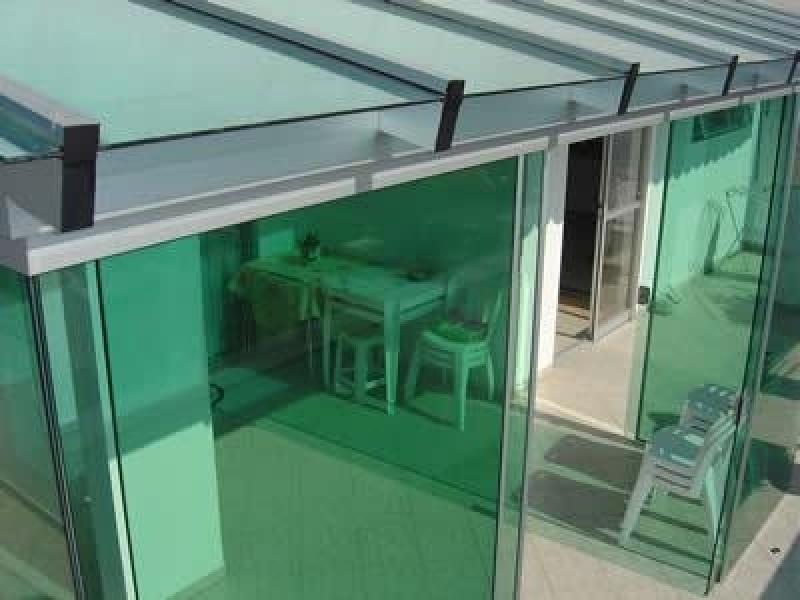 Sacada Glass Preço no Brás - Sacadas de Vidros