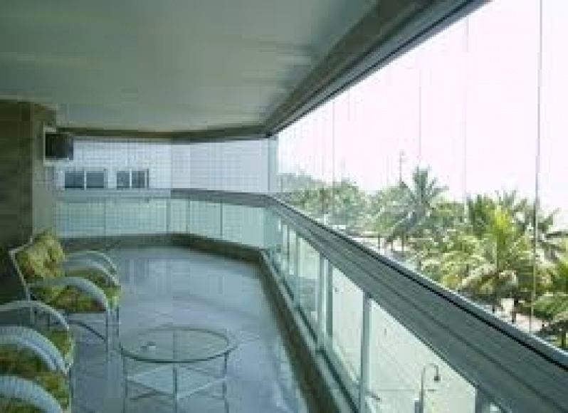 Sacada Glass Valores na Vila Matilde - Sacadas de Vidro