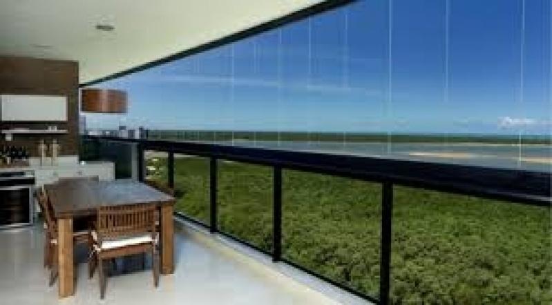 Sacadas de Vidro Preço em Diadema - Sacadas de Vidros