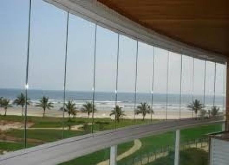 Sacadas de Vidro Preços em São Caetano do Sul - Sacada com Vidro