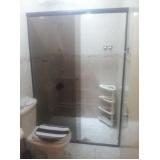 Box para Banheiro de Vidro valores em Pinheiros