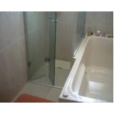 Box Vidro Banheiro valores no Ibirapuera